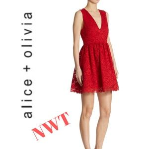 Alice + Olivia Kappa Dress